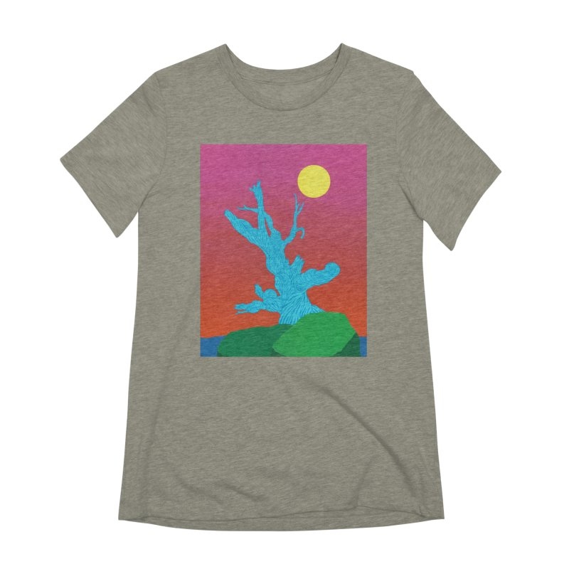 Gifting Tree Women's Extra Soft T-Shirt by By the Ash Tree