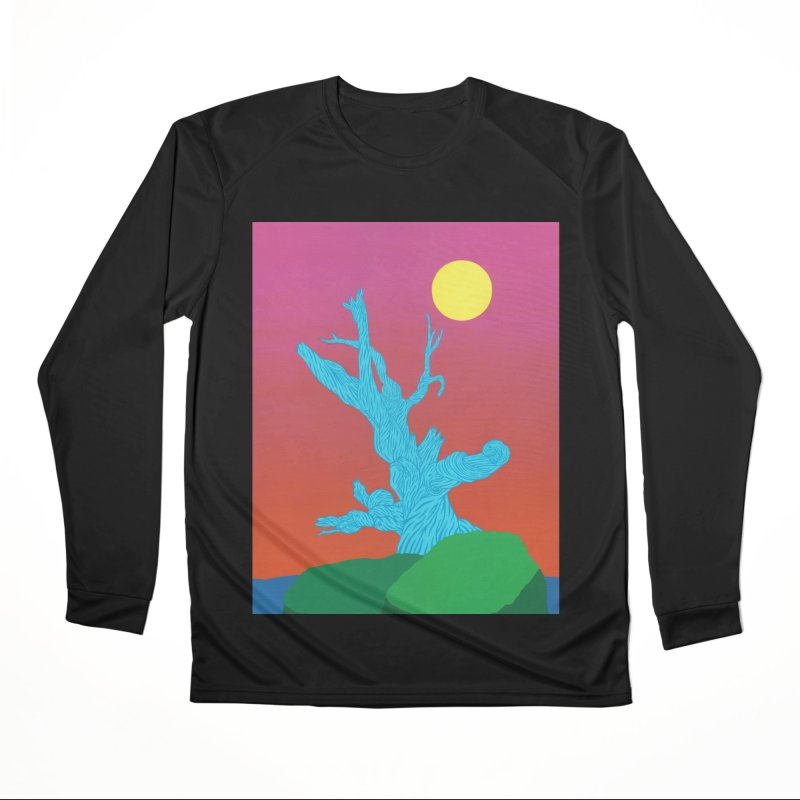 Gifting Tree Men's Performance Longsleeve T-Shirt by By the Ash Tree