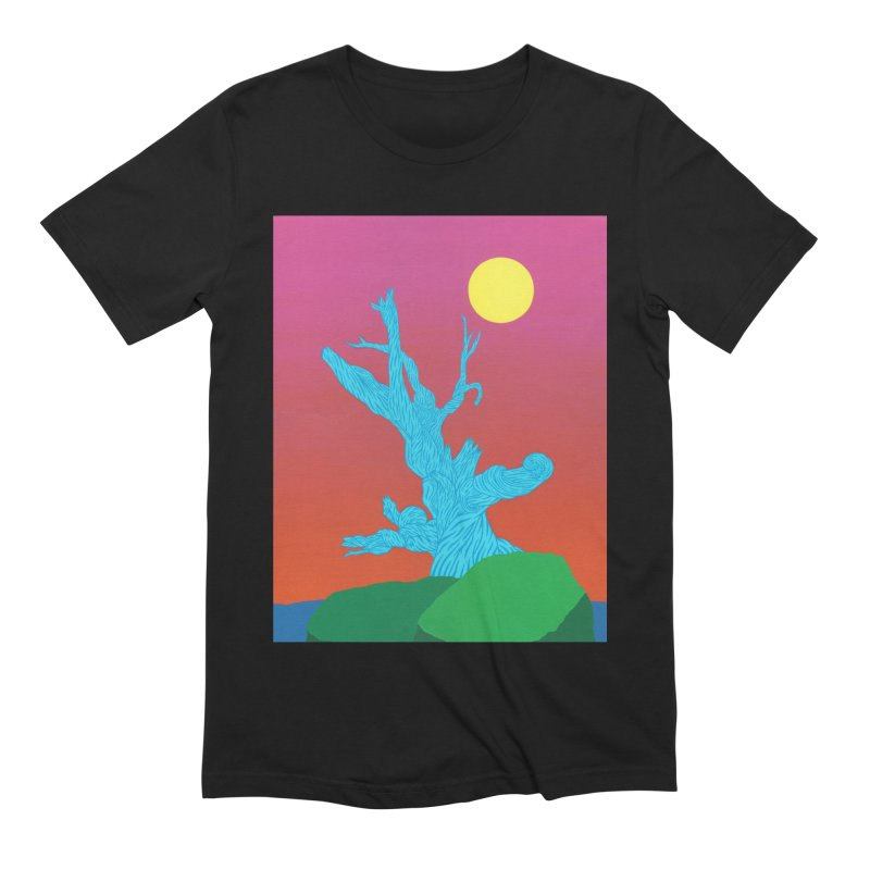 Gifting Tree Men's Extra Soft T-Shirt by By the Ash Tree