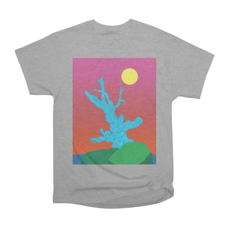 Gifting Tree Men's Heavyweight T-Shirt by By the Ash Tree