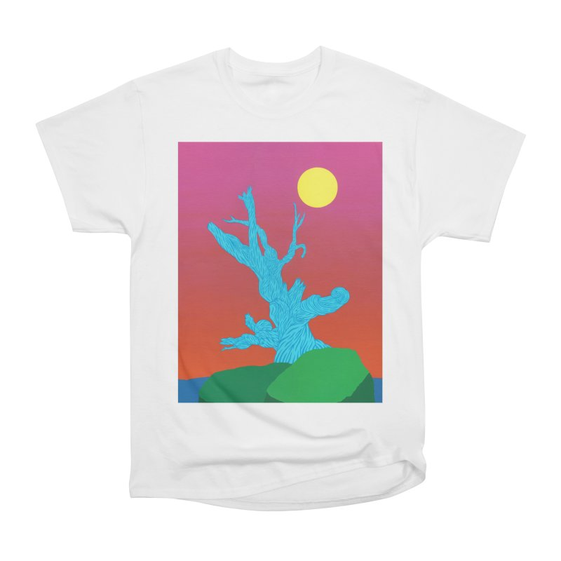 Gifting Tree Women's Heavyweight Unisex T-Shirt by By the Ash Tree