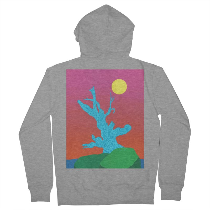 Gifting Tree Men's French Terry Zip-Up Hoody by By the Ash Tree