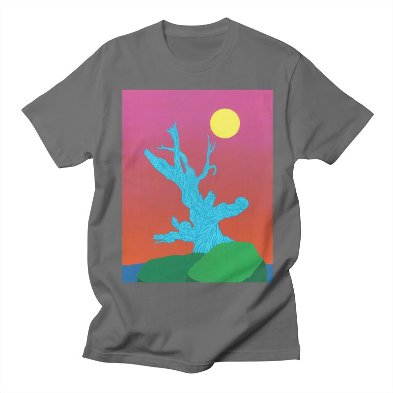Gifting Tree Men's Regular T-Shirt by By the Ash Tree