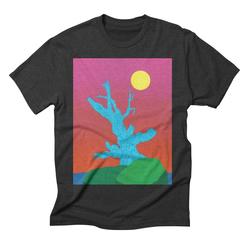 Gifting Tree Men's Triblend T-Shirt by By the Ash Tree