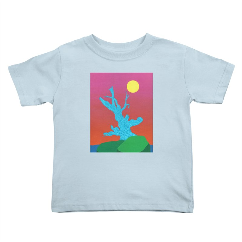 Gifting Tree Kids Toddler T-Shirt by By the Ash Tree