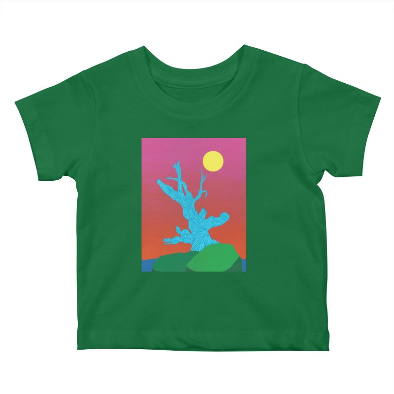 Gifting Tree Kids Baby T-Shirt by By the Ash Tree