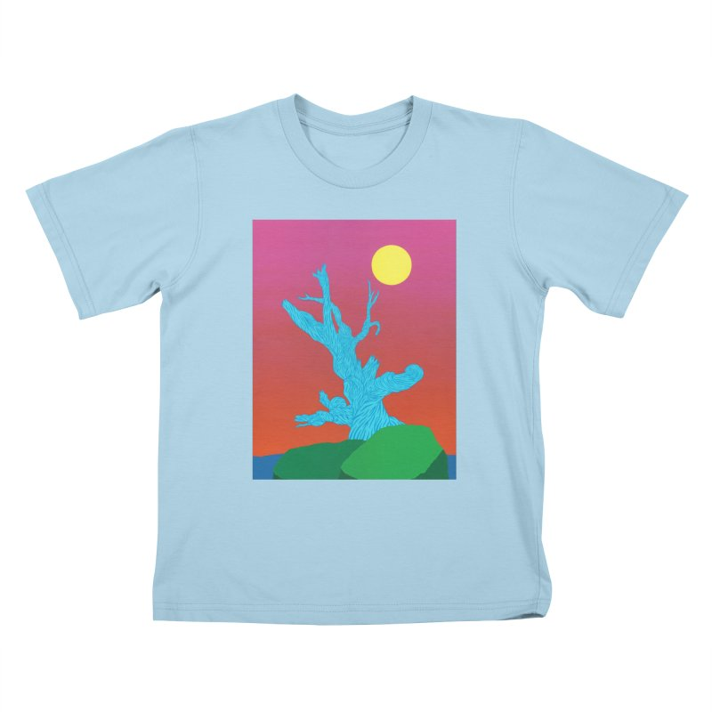Gifting Tree Kids T-Shirt by By the Ash Tree