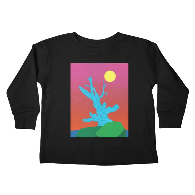 Gifting Tree Kids Toddler Longsleeve T-Shirt by By the Ash Tree