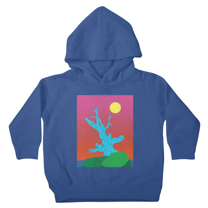 Gifting Tree Kids Toddler Pullover Hoody by By the Ash Tree