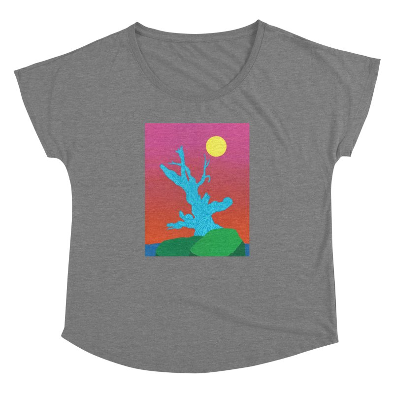 Gifting Tree Women's Dolman Scoop Neck by By the Ash Tree