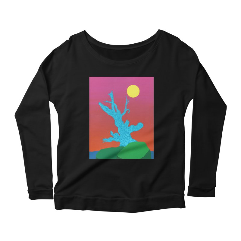 Gifting Tree Women's Scoop Neck Longsleeve T-Shirt by By the Ash Tree