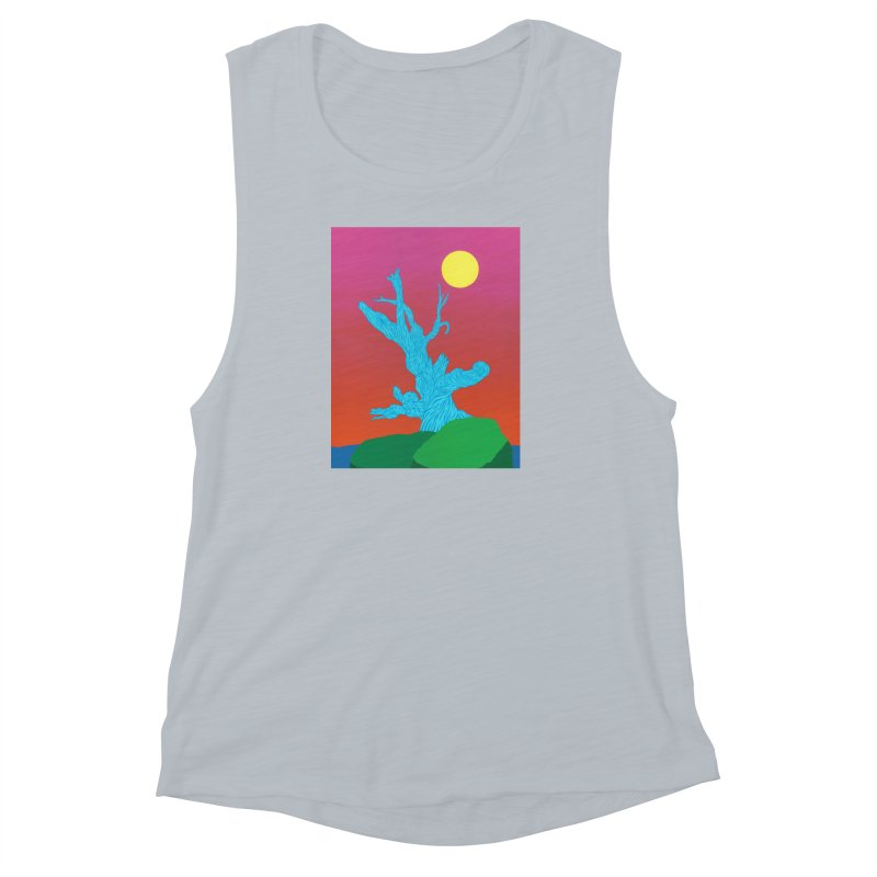 Gifting Tree Women's Muscle Tank by By the Ash Tree