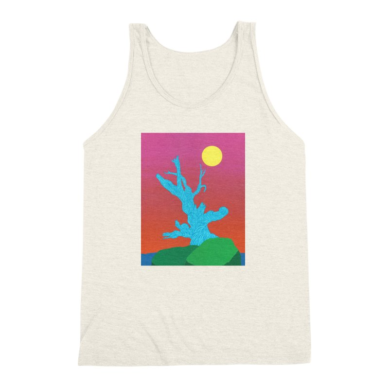 Gifting Tree Men's Triblend Tank by By the Ash Tree