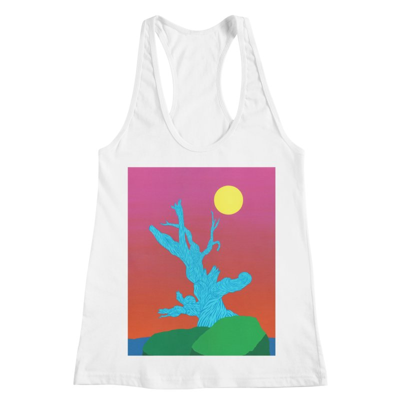 Gifting Tree Women's Racerback Tank by By the Ash Tree