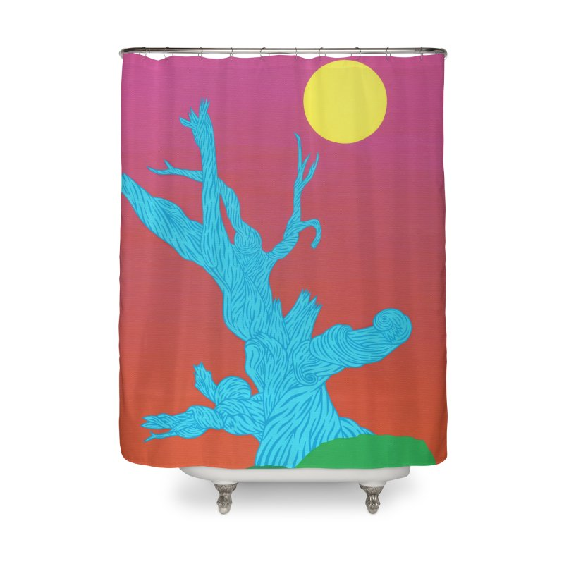 Gifting Tree Home Shower Curtain by By the Ash Tree