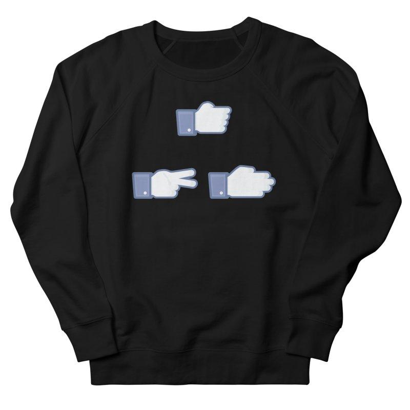 I Like Rock, Paper, Scissors Women's Sweatshirt by Byway Design
