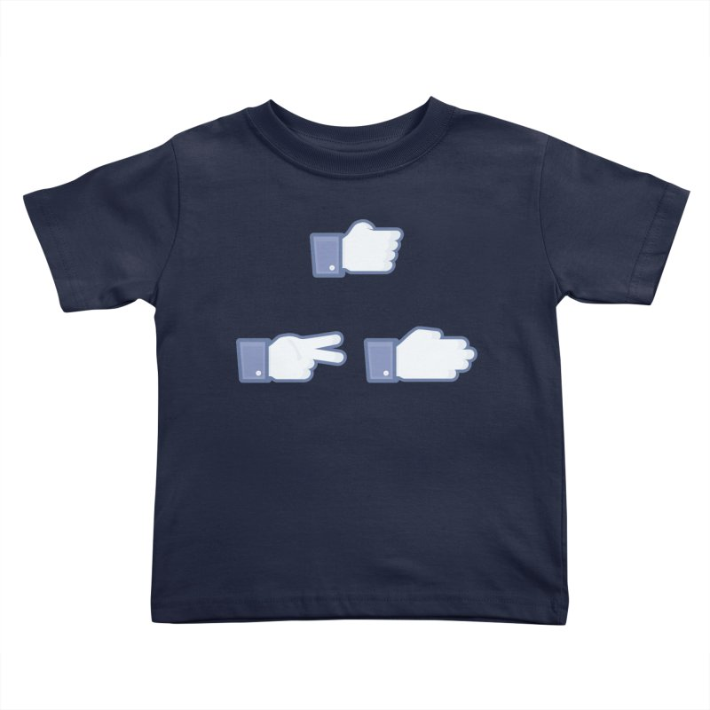 I Like Rock, Paper, Scissors Kids Toddler T-Shirt by Byway Design