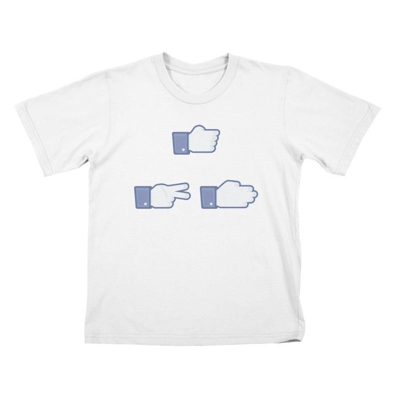 I Like Rock, Paper, Scissors Kids T-Shirt by Byway Design