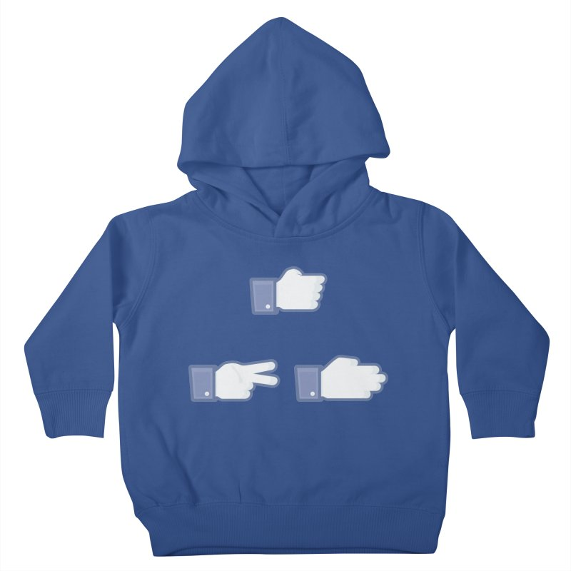 I Like Rock, Paper, Scissors Kids Toddler Pullover Hoody by Byway Design