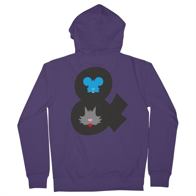 Cat & Mouse Women's Zip-Up Hoody by Byway Design