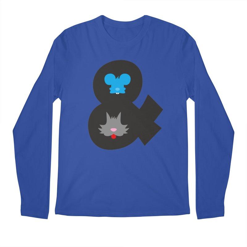 Cat & Mouse Men's Longsleeve T-Shirt by Byway Design