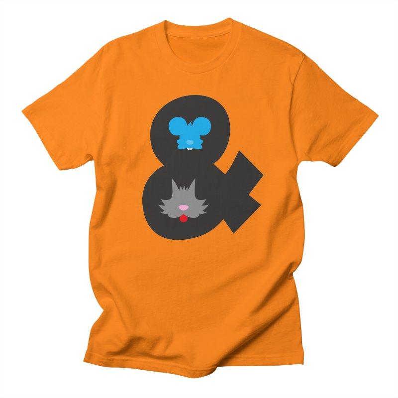 Cat & Mouse Men's T-Shirt by Byway Design