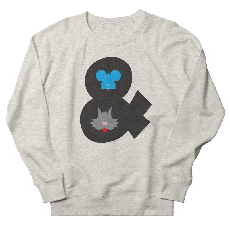 Cat & Mouse Women's Sweatshirt by Byway Design