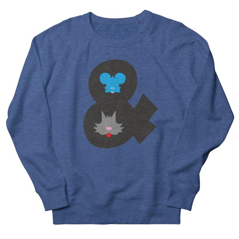 Cat & Mouse Men's Sweatshirt by Byway Design