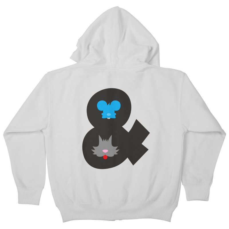 Cat & Mouse Kids Zip-Up Hoody by Byway Design