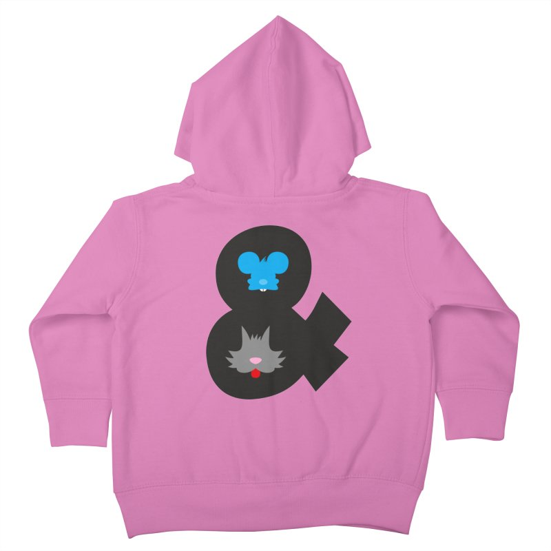 Cat & Mouse Kids Toddler Zip-Up Hoody by Byway Design