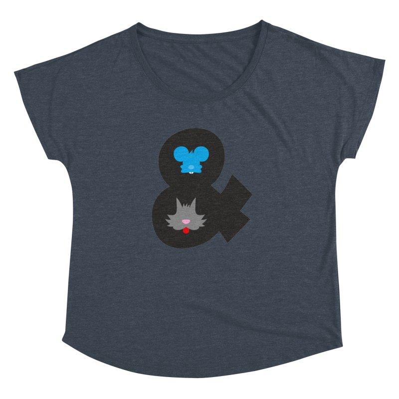 Cat & Mouse Women's Dolman by Byway Design