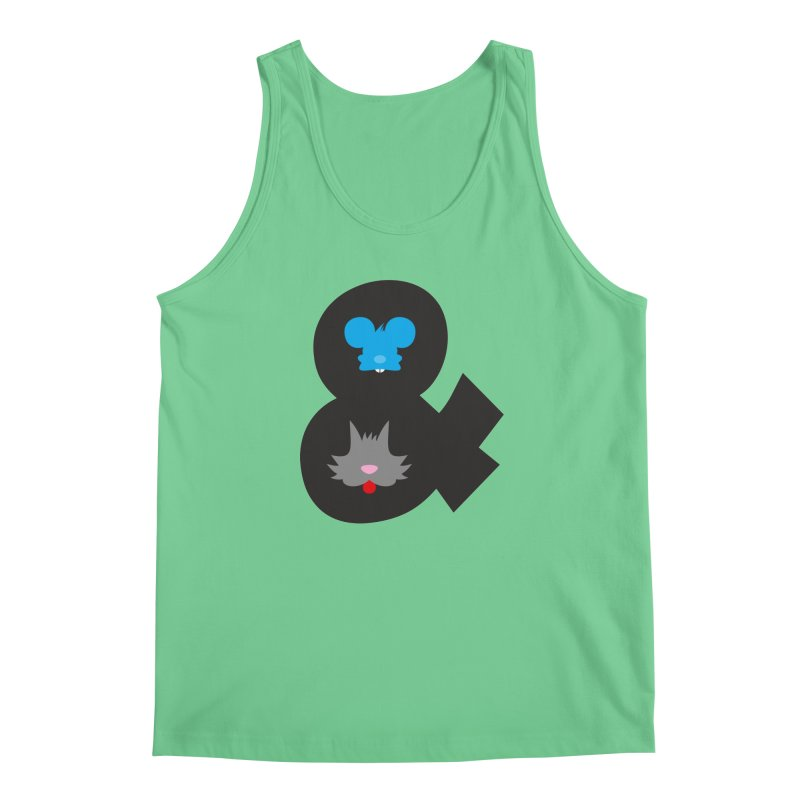 Cat & Mouse Men's Tank by Byway Design