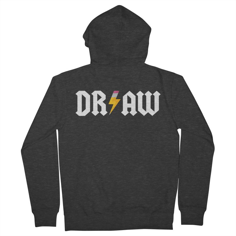 DR/AW Women's Zip-Up Hoody by Byway Design