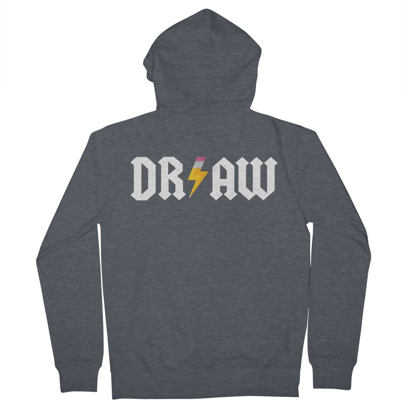 DR/AW Men's Zip-Up Hoody by Byway Design