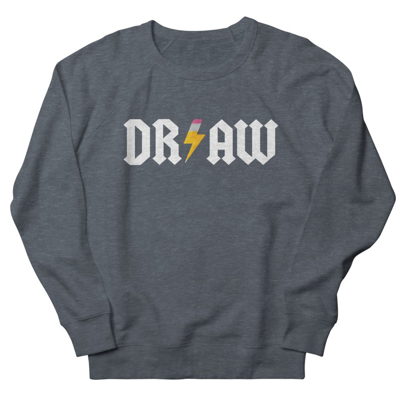 DR/AW Women's French Terry Sweatshirt by Byway Design