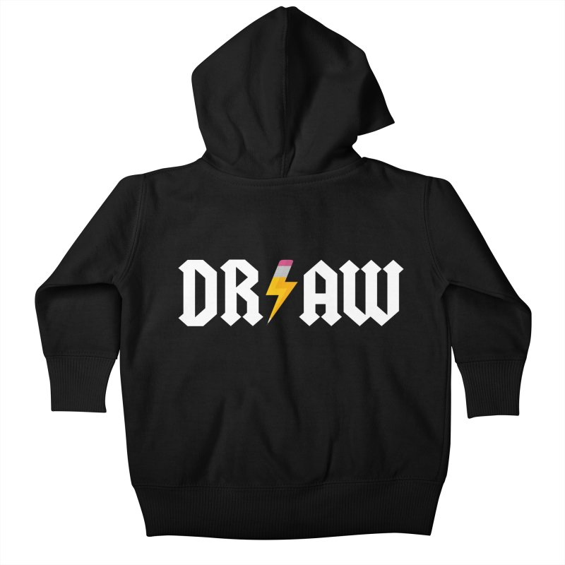 DR/AW Kids Baby Zip-Up Hoody by Byway Design