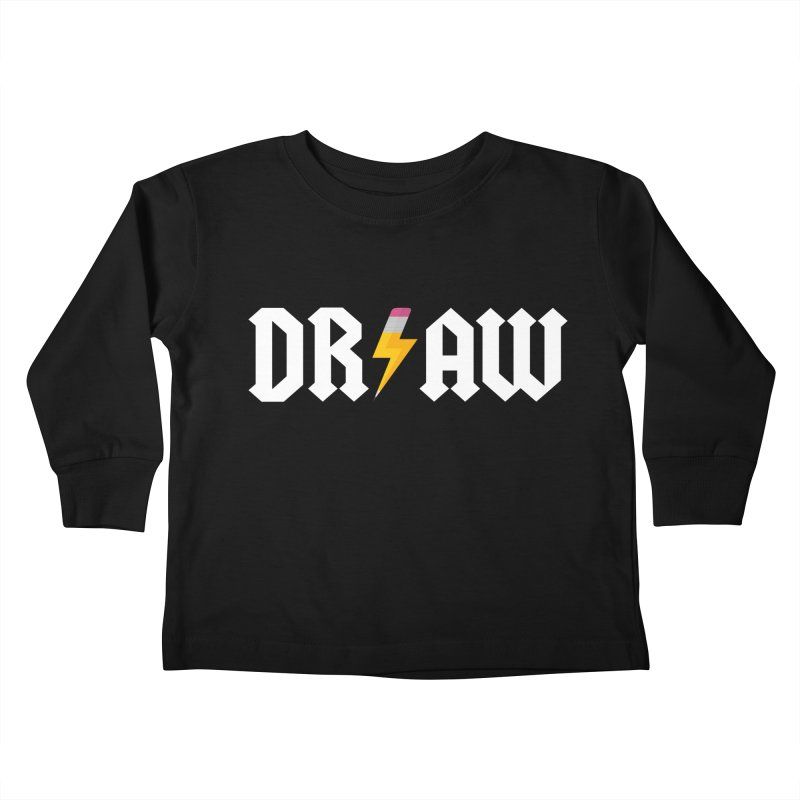 DR/AW Kids Toddler Longsleeve T-Shirt by Byway Design