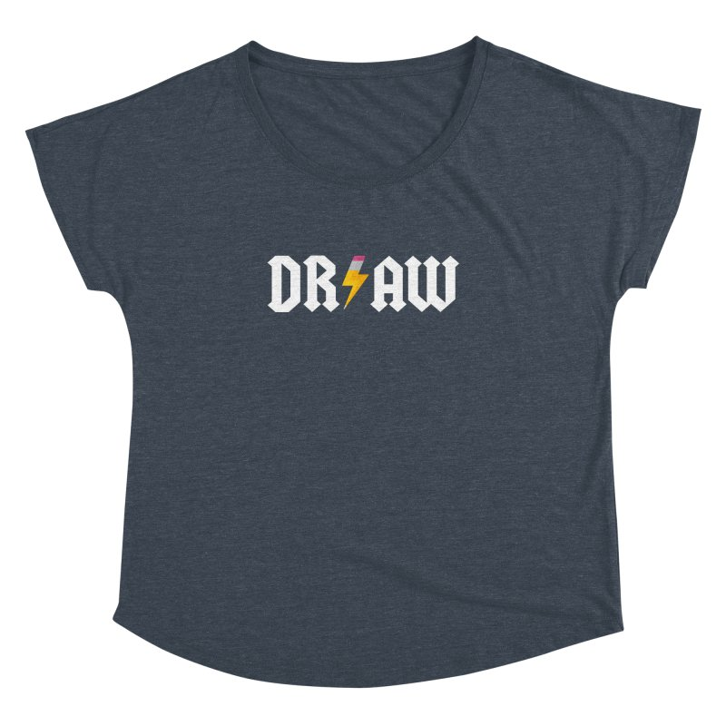 DR/AW Women's Dolman Scoop Neck by Byway Design