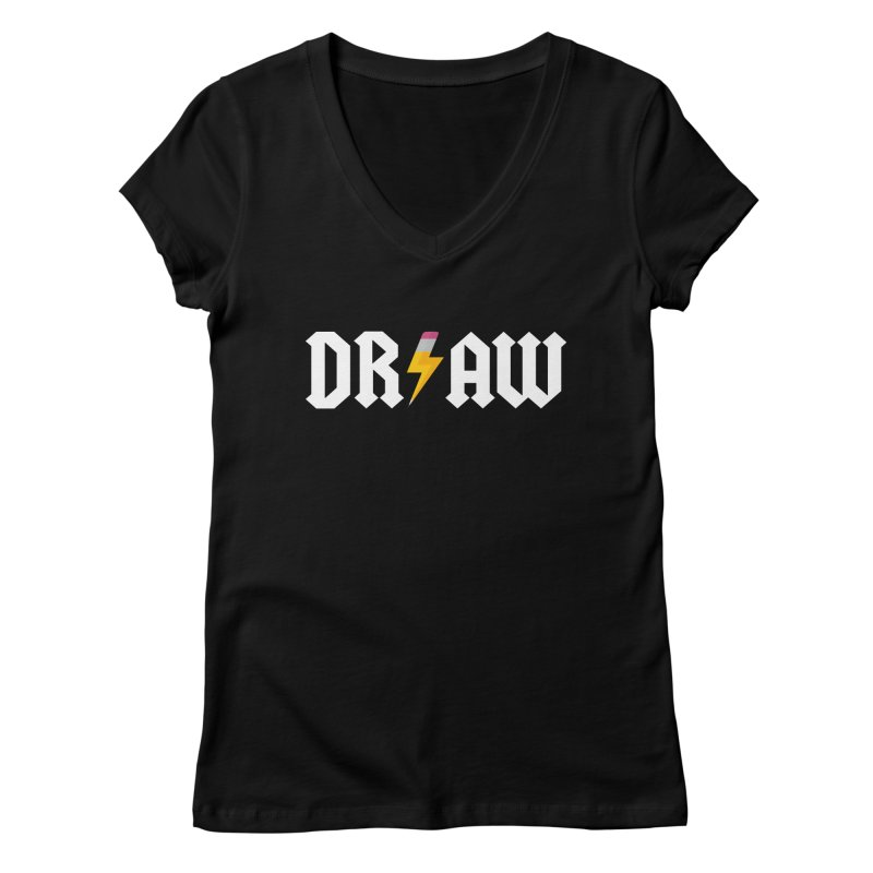 DR/AW Women's Regular V-Neck by Byway Design