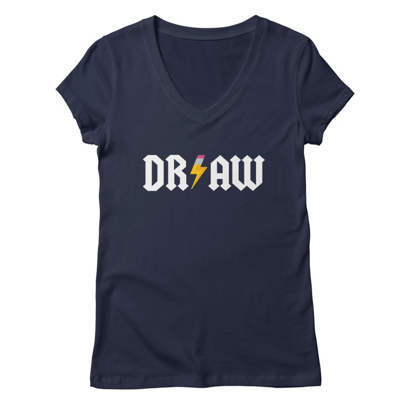 DR/AW Women's V-Neck by Byway Design