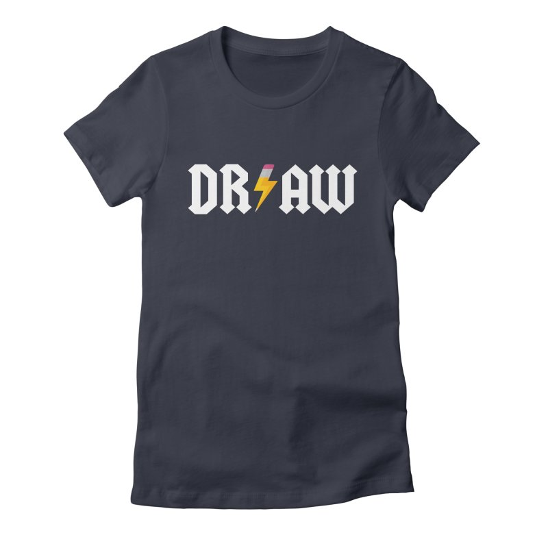 DR/AW Women's Fitted T-Shirt by Byway Design