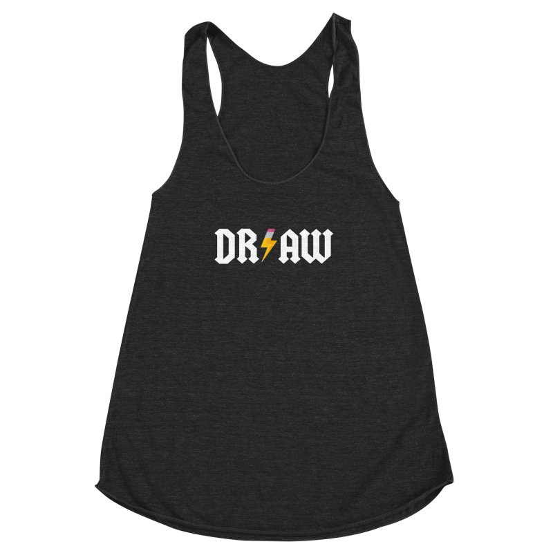DR/AW Women's Racerback Triblend Tank by Byway Design