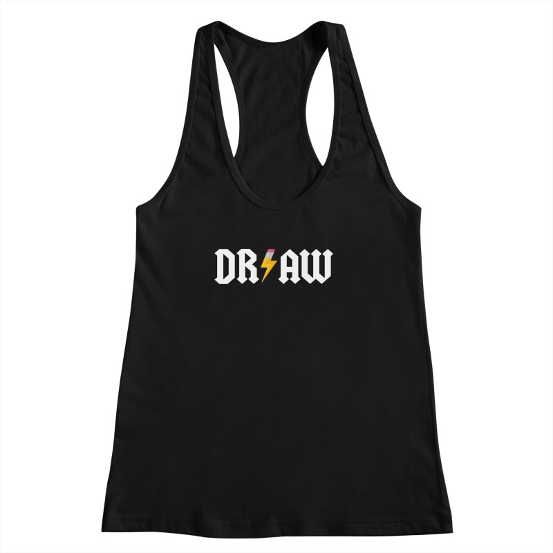 DR/AW Women's Racerback Tank by Byway Design