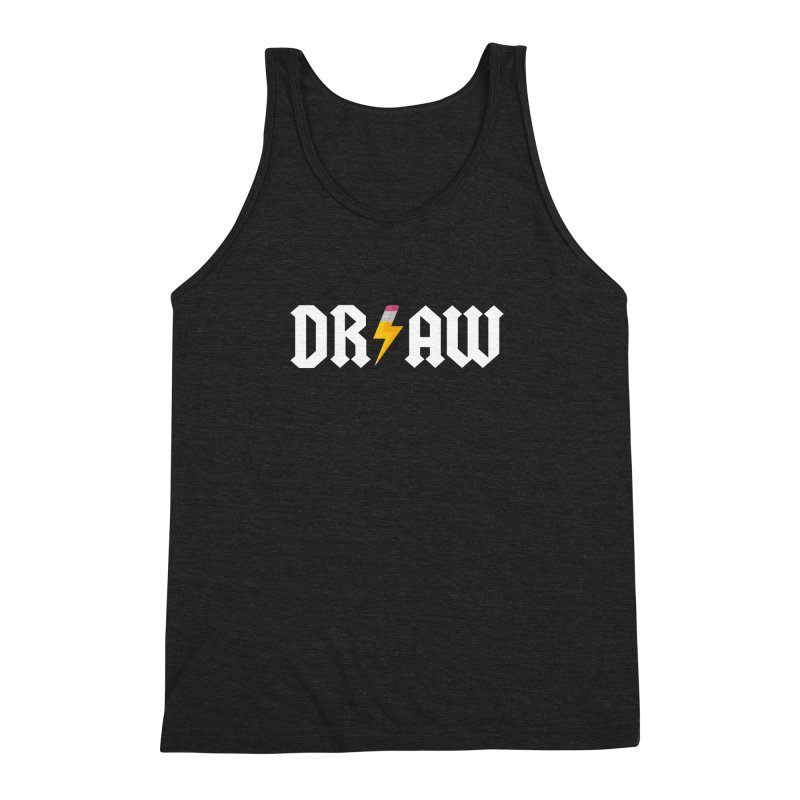 DR/AW Men's Triblend Tank by Byway Design