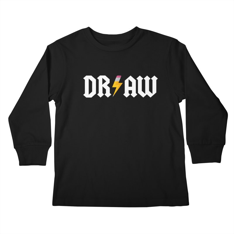 DR/AW Kids Longsleeve T-Shirt by Byway Design