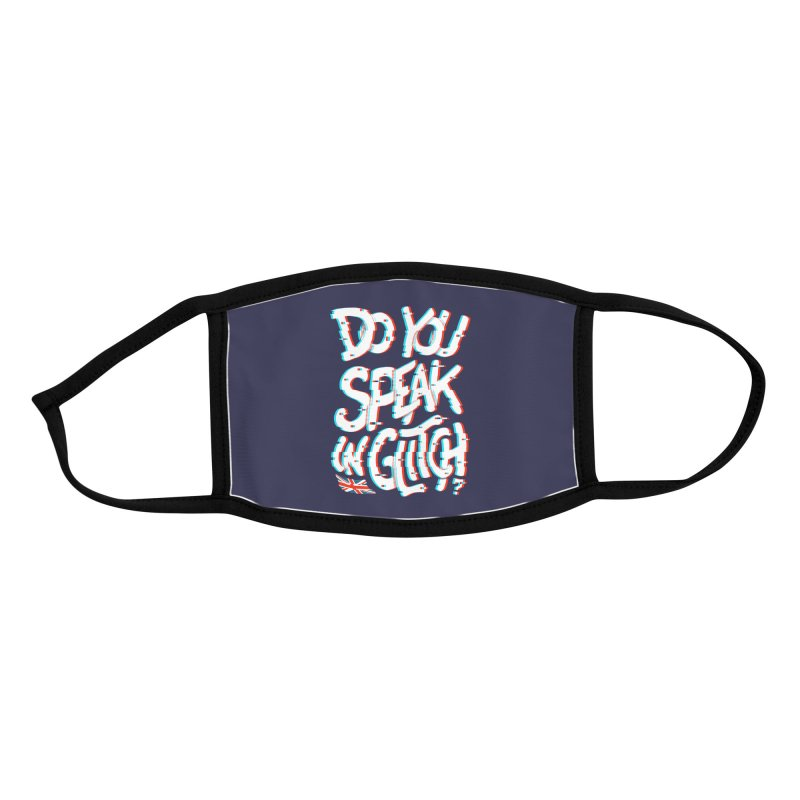 Do You Speak In Glitch Accessories Face Mask by c0y0te7's Artist Shop