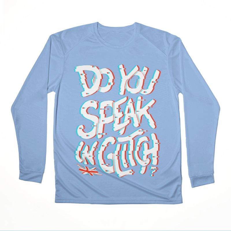 Do You Speak In Glitch Men's Longsleeve T-Shirt by c0y0te7's Artist Shop