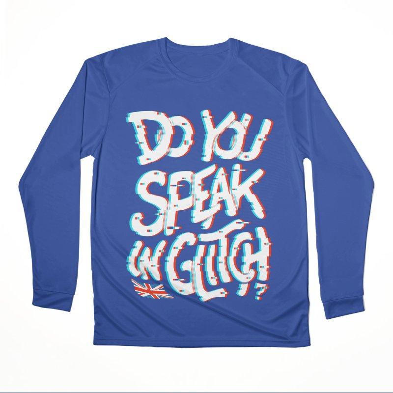 Do You Speak In Glitch Women's Longsleeve T-Shirt by c0y0te7's Artist Shop