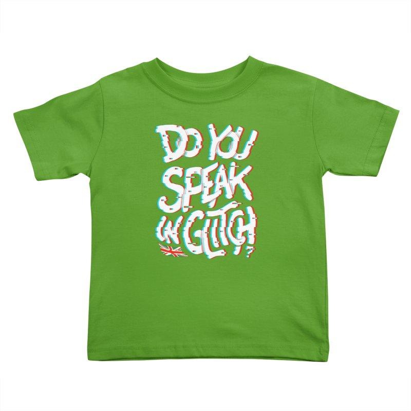 Do You Speak In Glitch Kids Toddler T-Shirt by c0y0te7's Artist Shop