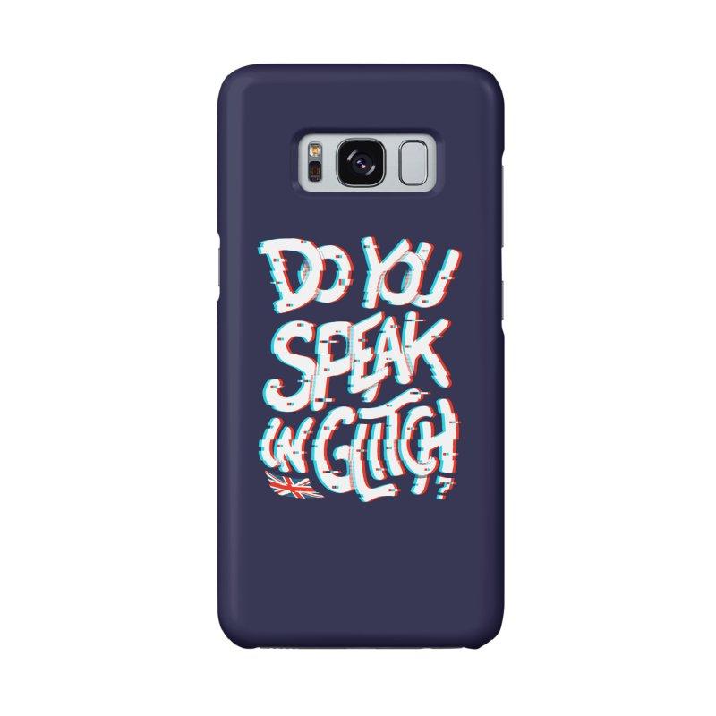 Do You Speak In Glitch Accessories Phone Case by c0y0te7's Artist Shop